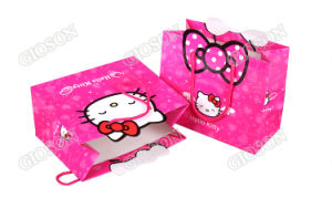 Hello Kitty Patterned Custom Paper Bag/ Gift Packing Bag pictures & photos