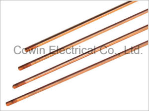 Copper Coated Steel Ground Rod / Copper Clad Steel Earth Rod pictures & photos