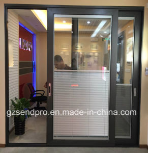 Interior Office Aluminum Sliding Gl
