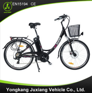 Fashion Aluminum Alloy Frame Electric City Bicycle pictures & photos