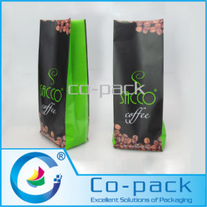 Custom Printed Aluminum Foil Side Guseet Coffee Bag pictures & photos