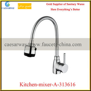 Single Lever 360 Degree Swivel Pull out Spray Spring Kitchen Sink Faucet pictures & photos