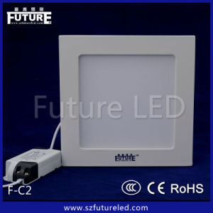 CE RoHS Approved Manufacturer 6W Square LED Panel Lamp