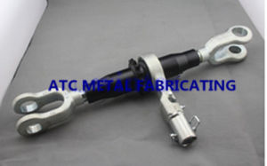 Forged Load Binders Ratchet Turnbuckle with Jaw M30 Forged Link Fork End pictures & photos