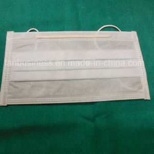 3 Ply Nonwoven Disposable Mask with Tie pictures & photos