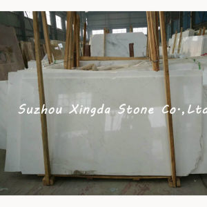 Cut-to-Size Waterjet White Marble Slab