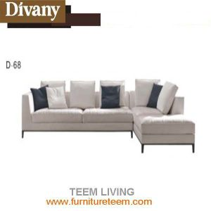 2016 New Collection Living Room Sofa Solid Wood Sofa (D-68) Modern Style Living Room Sofa New Design Sofa pictures & photos