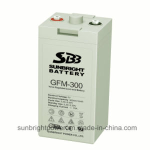 2V300ah High Quality Deep Cycle Power AGM 2V Battery pictures & photos
