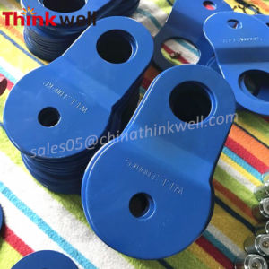 Towing Part Color Painted Alloy Steel 8t Snatch Pulley Block pictures & photos