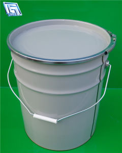 20L Printed Tin Drum/Pail/Barral for Oil Use
