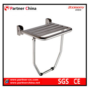 Stainless Steel Folding Shower Seat for Elderly/Disabled (08-004) pictures & photos
