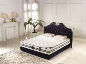 Tight Top Pocket Spring Compressed Bed Mattress pictures & photos