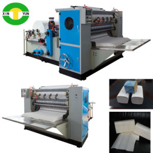 Full Auto V Folding & Slitting Kitchen Tissue Paper Machine Manufacture pictures & photos