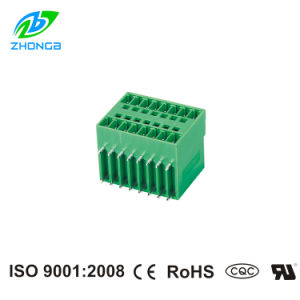 UL Approved Plug-in Terminal Block 90degree (ZB15EDGRH) Pitch 3.5/3.81mm