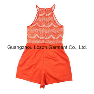 New Arrival Hot Sale Girl′s Jumpsuit with Printing
