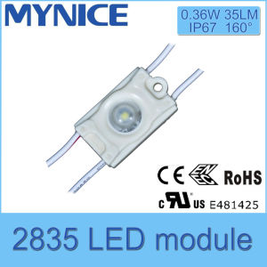 2835SMD IP67 DC12V Injection LED Module Light with Lens pictures & photos