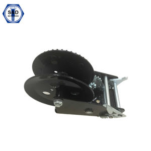 2500lbs Hand Winch Boat Trailer Winch Powder Coating