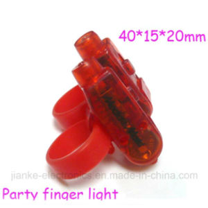 Night Party Finger LED Light with Logo Printed (4012)