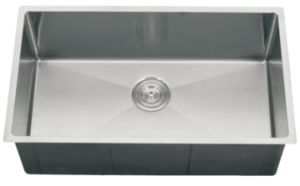 Stainless Steel Handmade Kitchen Sink, Undermount Single Bowl, - (S764419) pictures & photos