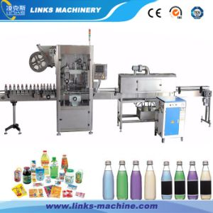Round Bottle Sleeve Label Shrinking Machinery for Sale pictures & photos