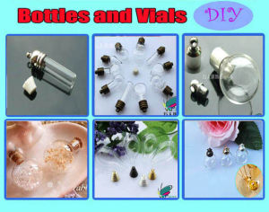 DIY Bottles, Glass Vials, Glass Bottles,