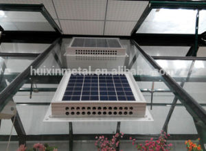 China Greenhouse Solar Powered 15w And 12v Ventilation Fan China Solar Fan Ventilation Fan