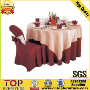 Yellow Chair Cover and Table Cloth pictures & photos