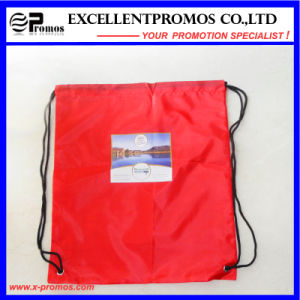 Promotional Customized Drawstring Nylon Polyester Material Backpack Bag (EP-B6192) pictures & photos