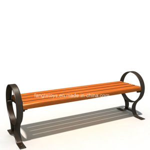 Park Bench, Picnic Table, Cast Iron Feet Wooden Bench, Park Furniture FT-Pb033