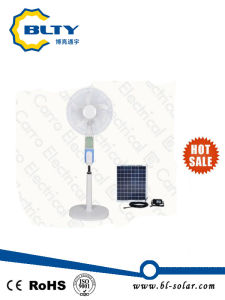 Rechargeable Stand Fan Wirh Solar Charging pictures & photos