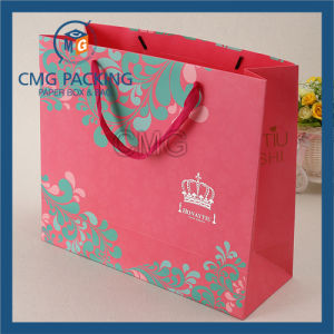 Customized Printing Paper Bag with Handle pictures & photos