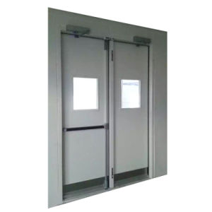 UL 2hr Double Leaves Fire Door/Stainless Steel Security Door  sc 1 st  Shanghai Yvkui Construction Engineering Consulting Co. Ltd. & China UL 2hr Double Leaves Fire Door/Stainless Steel Security Door ...
