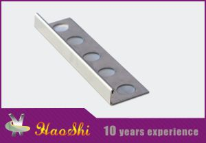 L Shape Type Haoshi Stainless Steel Corner Straight Edge (HSSS-01)