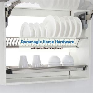 Dommagic Kitchen Cabinet Stainless Steel Dish Rack