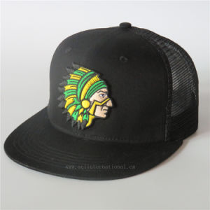 d2442badafed04 Custom Black Trucker Hat Mens Snapback Trucker Mesh Cap 3D Embroidery Snap  Back Hat Mesh Hat