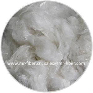 Cotton-like(raw/optical/super white, black) Recycled Polyester Staple Fiber