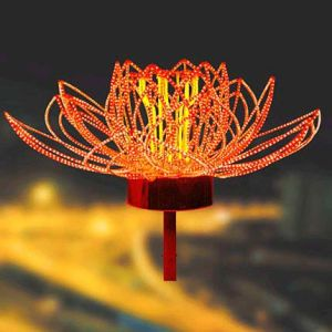 H: 3m LED Fireworks Lights for Park Decoration
