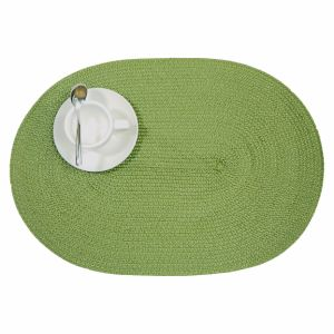 Oval 100% Polyester Place Mat for Tabletop