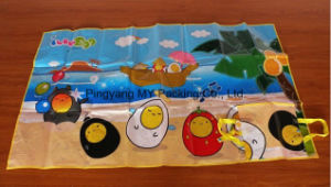 Recyclable Non Toxic Easy Carrying PP Woven Camping Beach Mat pictures & photos