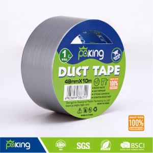 PE Material Adhesive Grey Duct Tape pictures & photos