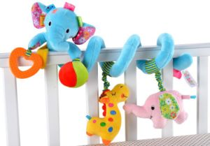 Baby Rotating Music Mobile Padding Attractive Bed 07446