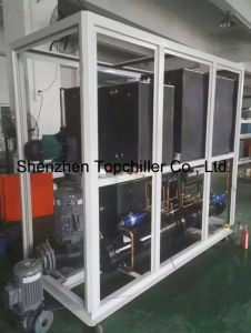 440V-460V 3phase 60Hz, 25tr Energy Saving Water Cooling Chilled Water Cold Machines in Anodizing Industry