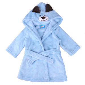 Cute Animal Children Cotton Bathrobe