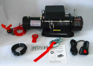 4X4 Recovery Electric Winch with Wireless Remote Kit (12000lbs-3)