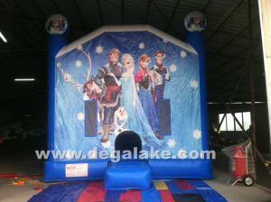 Inflatable Frozen Jumping Bouncer, Bouncy Castle