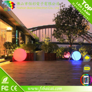 Water Floating Colorful Flashing LED Ball for Promotion