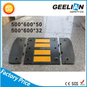 60cm Road Safety Rubber Reflective Speed Bump