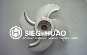 Stainless Steel Investment Casting Impeller