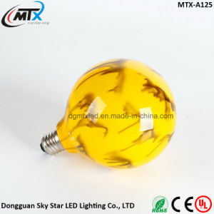 New Product Creative Yellow Red Green Colorful LED Painted Bulb pictures & photos