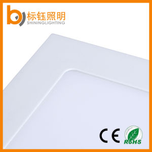 Ultra Slim Square Panel Lamp Suspended 6W LED Ceiling Light Warm White pictures & photos
